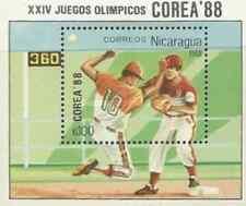 Timbre Sports JO Base ball Nicaragua BF183 ** lot 18096