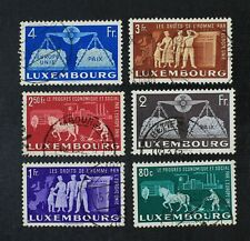 CKStamps: Luxembourg Stamps Collection Scott#272-277 Used