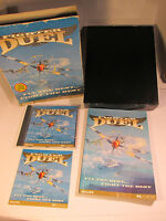 VERY RARE FIGHTER DUEL BIG BOX PC GAME 1995  BY PHILIPS PC-CD-ROM