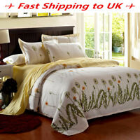 Dandelion Duvet Cover Pillow Case Quilt Cover Bedding Set Single Queen King