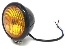 Faro Retro y amarillo cristalino para Harley Davidson Sportster & Dyna Proyecto Bicicleta