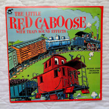 Rocking Horse The Little Red Caboose With Train Sound Effects lp,RARE,COOL,EX C!