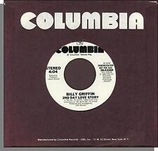 "Billy Griffin - 2nd Day Love Story - 1981 Columbia Promo 7"" 45 RPM Single!"