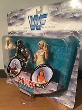 MOC WWF WWE 2 Tuff Series 1 Goldust & Marlena 1998 Jakks Pacific