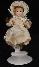 """Vintage 1950s French Doll """"Les Poupees De Mado La Belle Époque""""  w/ tags & stand"""