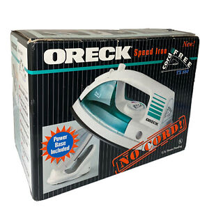 ORECK Speed Iron - Cordless -  Swivel Power Base TX850