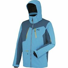 Millet Magic Stretch Jacket - Mens Large Flashy Blue/Majolica Blue