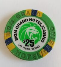 MGM Grand Second Issue $25 Casino Chip