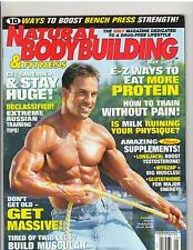 NATURAL BODYBUILDING and FITNESS muscle magazine/Brock Madill 5-03
