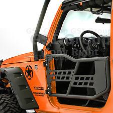 4x4 Rock Crawler Body Armor Replacement Tubular 2 Door 07-18 Jeep JK Wrangler
