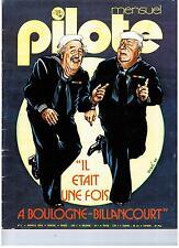 """MAGAZINE """"PILOTE MENSUEL no 11"""" (1975) FRED / F MURR / QUINO / BILAL / CRUMB"""
