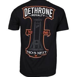 BNWT DETHRONE PREMIUM WHOS NEXT TEE M XXL MMA UFC