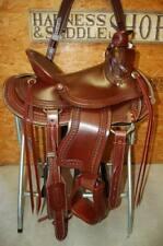 "16"" G.W. CRATE WADE ROPER SADDLE NEW FREE SHIP ARBUCKLE MADE IN ALABAMA USA"