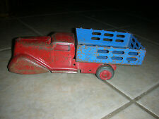 Vintage MARX LUMAR Pressed Steel Truck - Made in the USA!!!!
