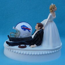 Wedding Cake Topper Buffalo Bills Football Themed Sports Fan Humor Funny Unique