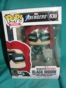Funko Pop Marvel Avengers Gamerverse Black Widow Vinyl Figure-New
