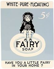 Fairy Soap large metal sign 360mm x 285mm (ar)