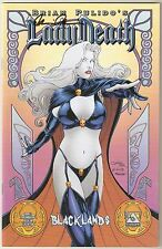 Lady Death Blacklands 2. Art Nouveau Edition. Signed & Certified. Ltd 750.