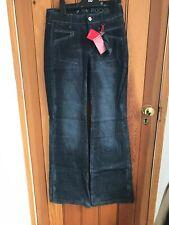 Girbaud Black Washed Wide Flared 26 Jeans Bnwt Pockextel