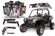 AMR Racing Polaris RZR 900XP Sticker Graphic Kit Decal UTV Parts 11-14 TSUNAMI K