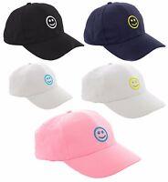 Kids Baseball Cap Boy Girl Emotion Smile Adjustable Children Snapback Hat