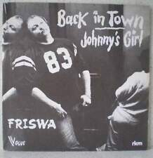 "FRISWA Back in town (LISTEN) RARE 7"" 1979 progr / funkrock BELGIUM Jenghiz Khan"
