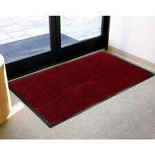 LivingBasics® Twist  PP Door floor Mat Welcome Doormat, Red