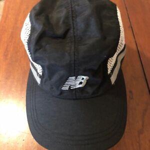 New Balance Unisex Vintage Sports Cap Black Mesh