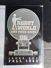 Robot World And Price Guide Issue One Fall 1992
