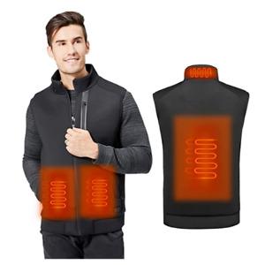 MVPower Heated Vest for Men Women, USB Charging Heated Jacket - Medium