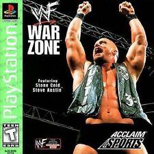 WWF War Zone Sony PlayStation 1 Video Game 1998 Acclaim Sports Stone Cold WWE