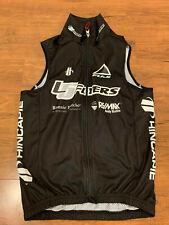 Hincapie Winter Cycling Wind Vest Team Issue Size M Black