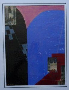 SIMONA ERTAN- NEE BUCAREST - ROUMANO-ARGENTINE - ABSTRAITE -ECOLE DE PARIS- 1967