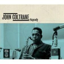 JOHN COLTRANE - RHAPSODY-ESSENTIAL COLLECTION 2 CD NEW!