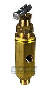 Pilot Unloader valve for Jenny air compressor 141-1047  95-125 PSI, Male NPT