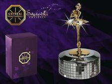 Crystal Temptation - Ballerina mit Spieluhr 3754 mit Swarovski-Kristallen 14x8cm
