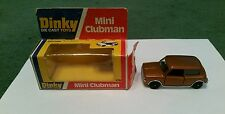 DINKY MINI CLUBMAN - 178 - 1:43 MINT + BOX - BRONZE