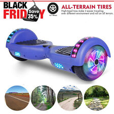 New 6.5 Led Chrome Hover board Hoverheart Electric Self Balancing Scooter Ul2272