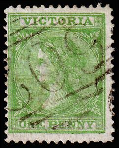 Victoria Scott 110 (1867) Used F, CV $5.75 M