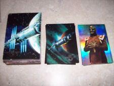 Babylon 5 Fleer Ultra 1995 trading card 120 Card Base set and 2 Chase card set