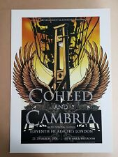 Coheed and Cambria Melbourne 2006 Concert Poster Art Joe Whyte