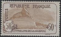 "FRANCE STAMP TIMBRE N° 153 "" ORPHELINS 50c+50c LION DE BELFORT "" NEUFxx TTB J659"