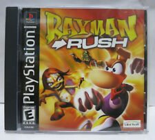 Rayman Rush PS1 Sony PlayStation 1 PSX PS2 PS3 Complete Black Label
