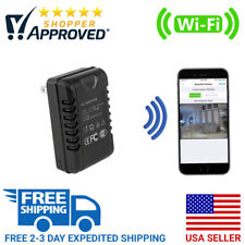 SpygearGadgets 1080P HD WiFi Internet Streaming AC Adapter Hidden Nanny Camera