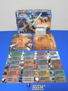 INCOMPLETE FOR PARTS - Star Wars: Epic Duels Board Game Milton Bradley 2002