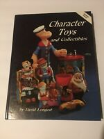 Character Toys and Collectibles by David Longest (1990, HC) Disney Puppets Cars