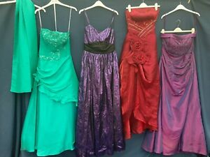 X 4 PROM PARTY Bridesmaid Wedding Evening Formal Dress Party  BALL Gowns  #1
