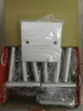 10 x m2 13A Unswitched Fused Connection Unit Flex Outlet White m2fl13suf £13