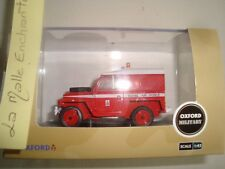 Oxford pompier militaire Land Rover 1/2 Ton Lightweight Royal Air Force 1/43