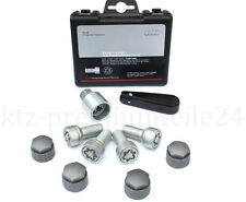 Genuine Audi Anti-theft locking wheel nuts bolts COMPLETE KIT 4F0071455 A3 A4